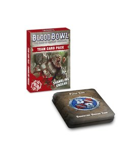 Blood Bowl: Shambling Undead Team Card Pack