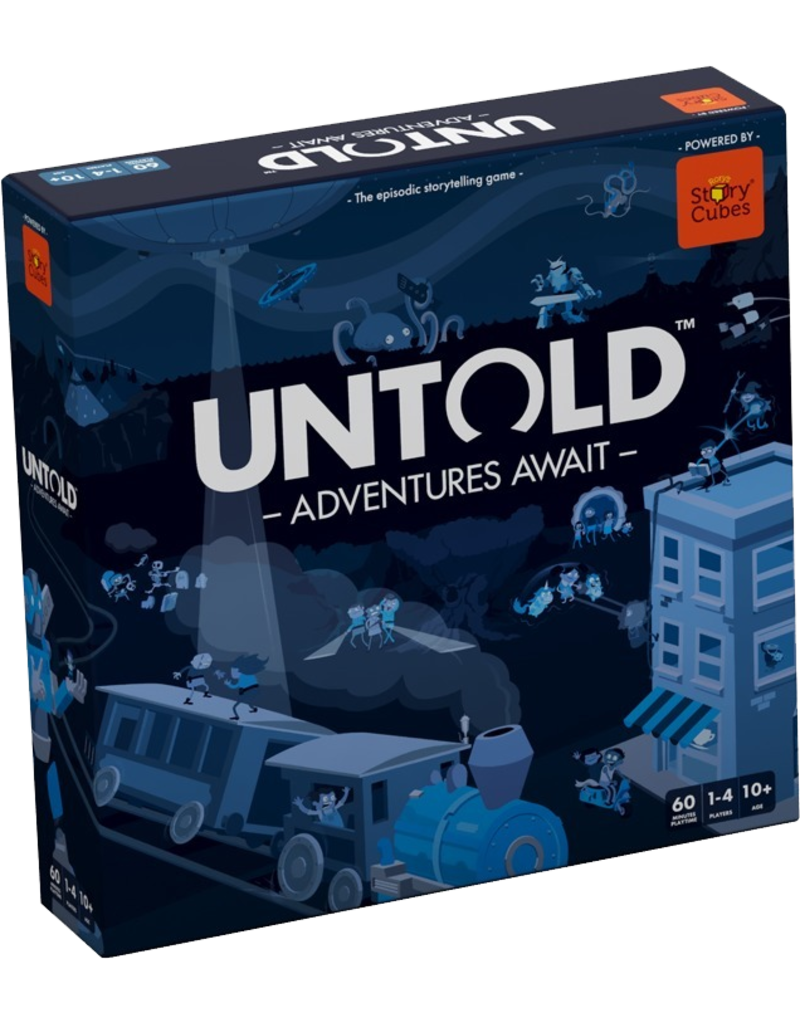 Asmodee - The Creativity Hub Untold: Adventures Await