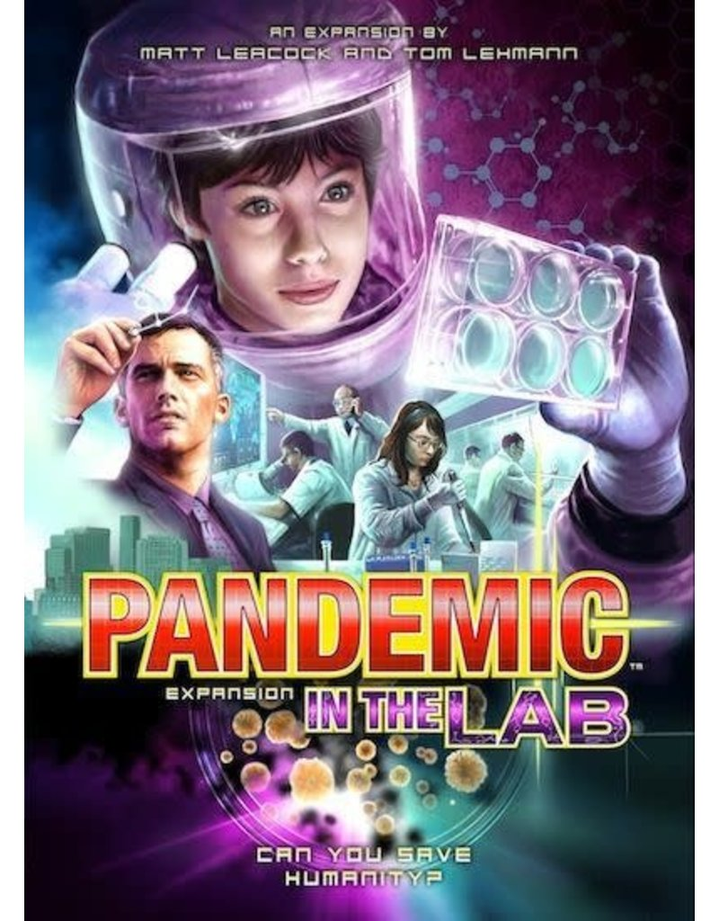 Asmodee - Z-Man Games Pandemic: In the Lab