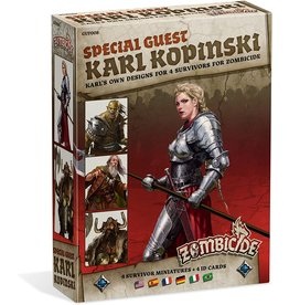 CMON Zombicide - Special Guest Karl Kopinski Expansion