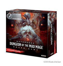 WizKids D&D: Dungeon of The Mad Mage Adventure Board Game (Premium Edition)