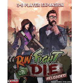 Grey Fox Games Run, Fight or Die Reloaded - 5-6 Players Expansion