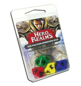 Hero Realms: D10 Faction Spindown Dice