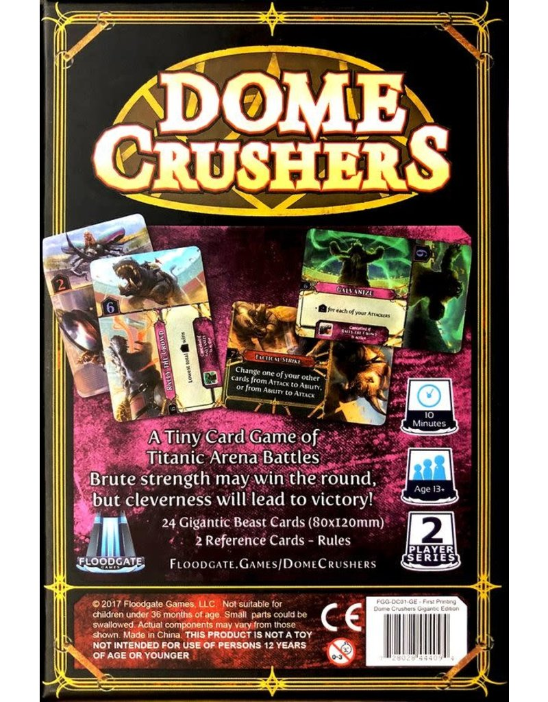 Floodgate Games Dome Crushers