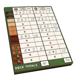 Deck Building: The Deck Building Game Score Pad