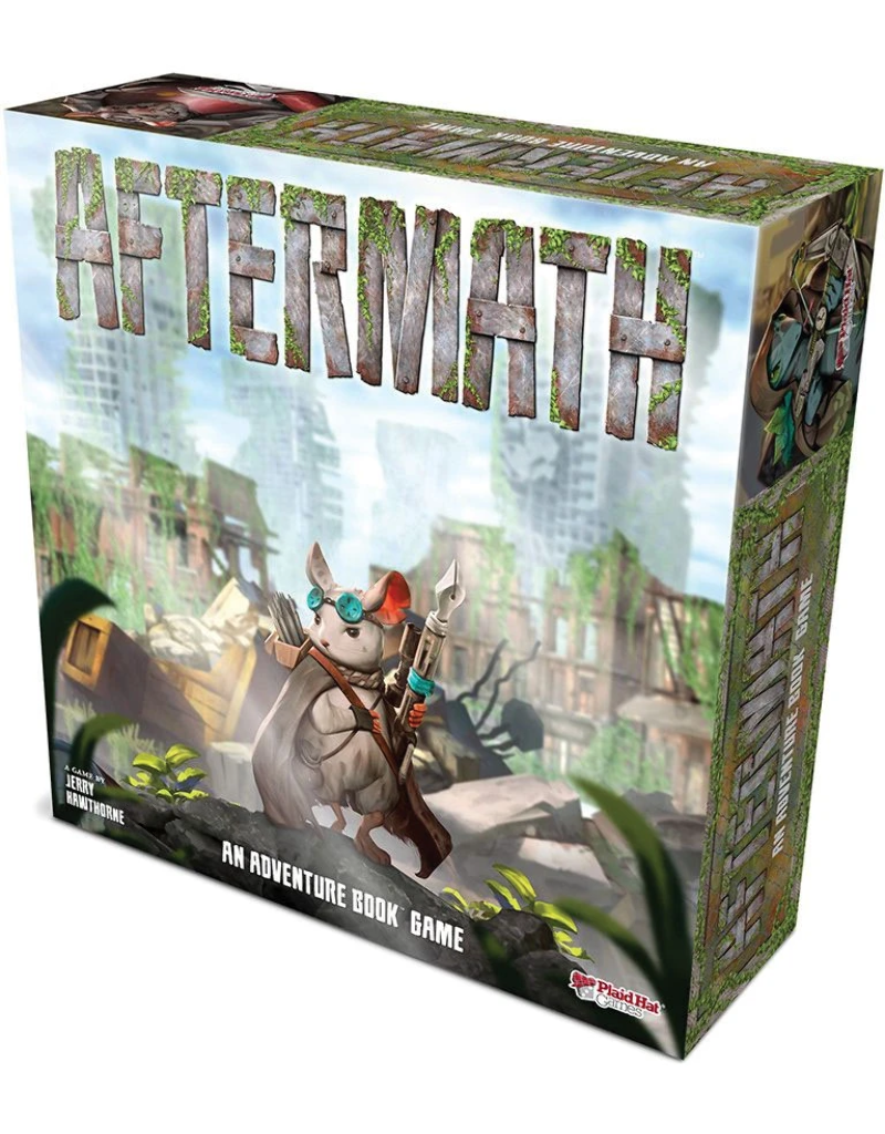 Asmodee - Plaid Hat Games Aftermath: An Adventure Book Game