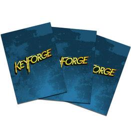 KeyForge Logo Sleeves (40) - Blue