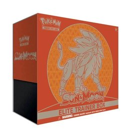 Sun and Moon Elite Trainer Box (Solgaleo)