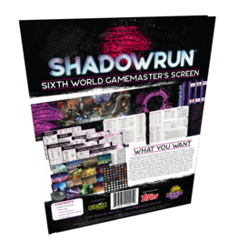 Shadowrun RPG (Sixth Edition): Game Master Screen