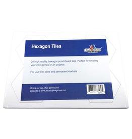 Blank Hexagon Tiles 79x93mm (20)