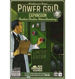 Power Grid: Quebec/Baden-Wurtemburg Expansion