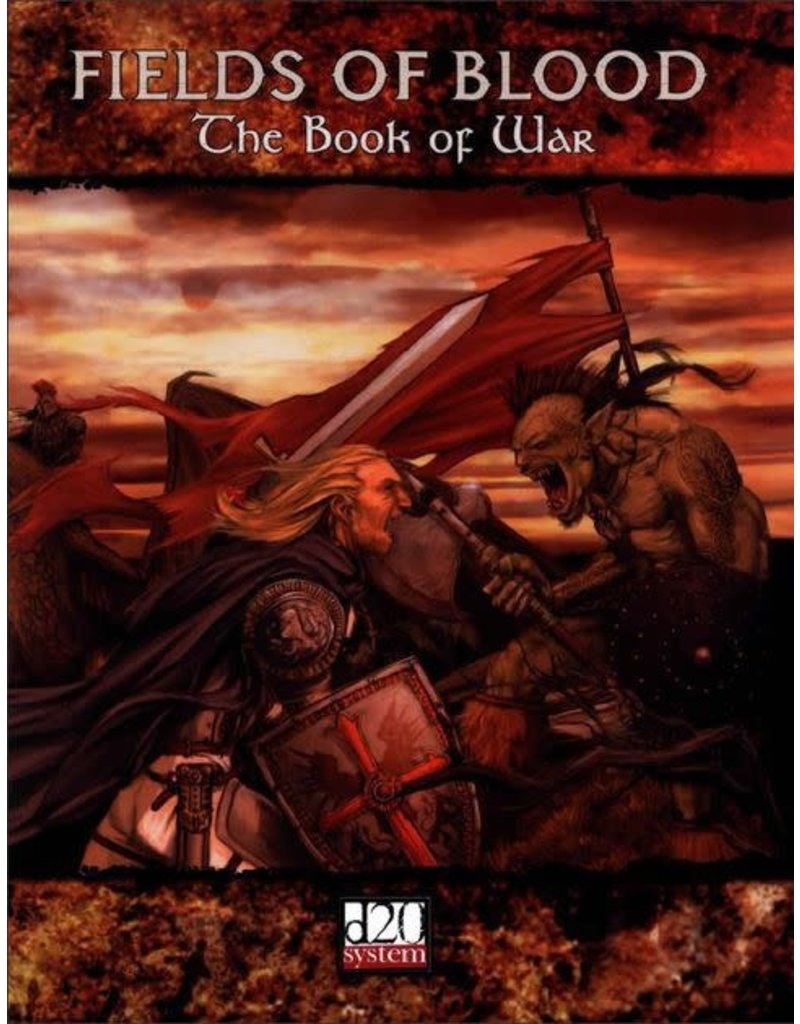Eden Studios Fields of Blood: The Book of War