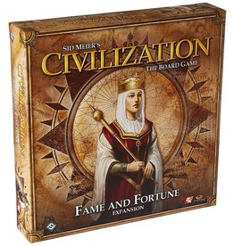 Asmodee - Fantasy Flight Games Civilization the Board Game: Fame and Fortune Expansion