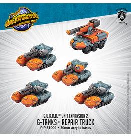 Privateer Press Monsterpocalypse: G-Tanks and Repair Trucks Unit (G.U.A.R.D.)