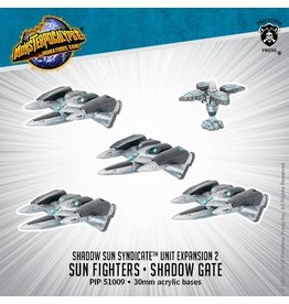 Monsterpocalypse: Sun Fighter and Shadow Gate Unit (Shadow Sun Syndicate)