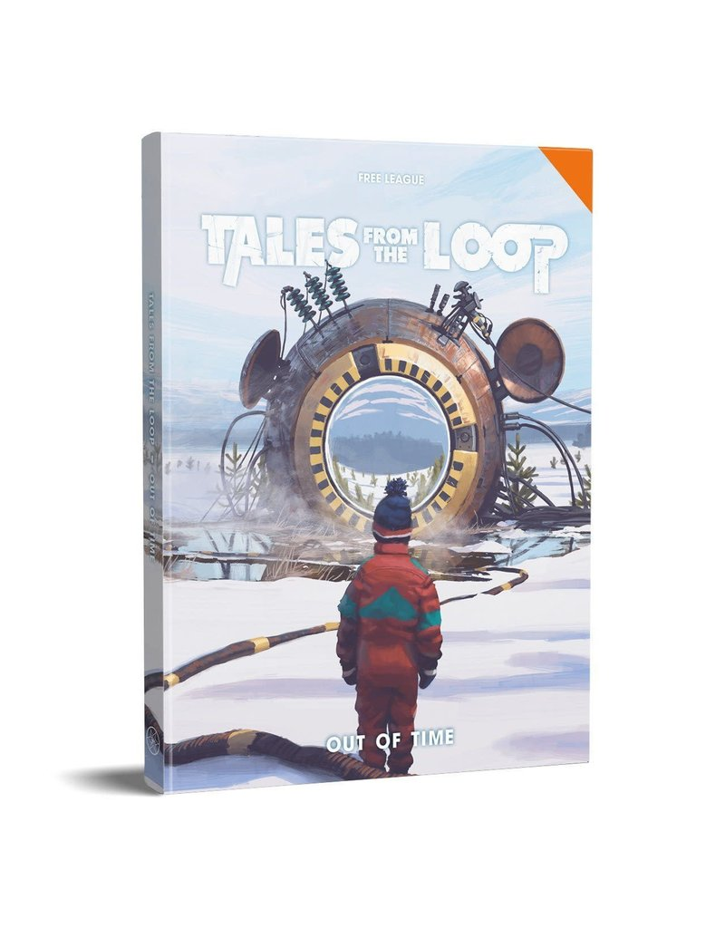 Modiphius Tales from the Loop: Out of Time Campaign Book