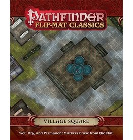 Paizo Pathfinder: Village Square Flip-Mat