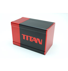 Titan Deck Box Red