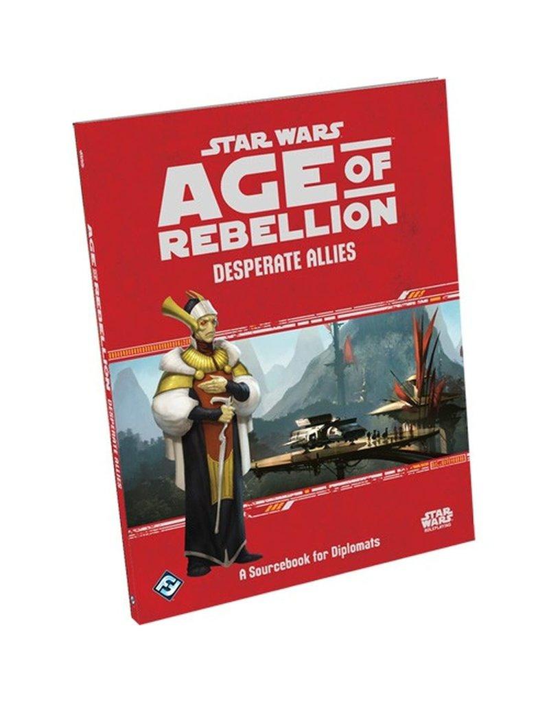 Asmodee - Fantasy Flight Games Star Wars - Age of Rebellion RPG: Desperate Allies
