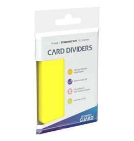 Yellow Card Dividers