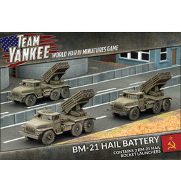 Team Yankee: BM-21 Hail Battery (TSBX08)