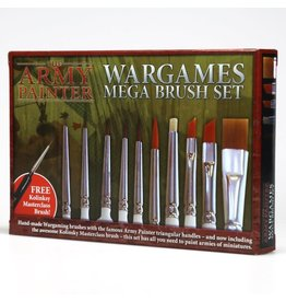 The Army Painter Hobby Starter - Mega Brush Set