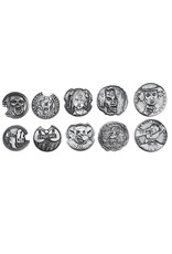 Norse Foundry Adventure Coins: Zombie Metal Coins (10)