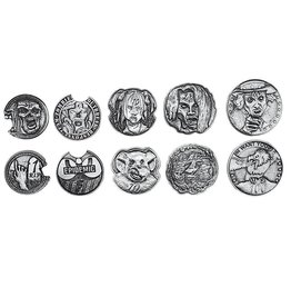 Adventure Coins: Zombie Metal Coins (10)