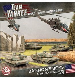 Battlefront Miniatures Bannon's Boys - American Spearhead Force