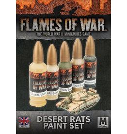 Team Yankee: Desert Rats Paint Set (British)