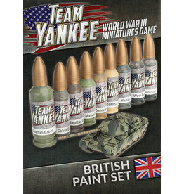 Team Yankee: British Paint Set