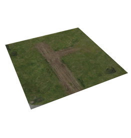 The Walking Dead: All Out War - Greene Farm Deluxe Gaming Mat