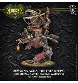 Zevanna Agha, The Fate Keeper – Grymkin Battle Engine Warlock