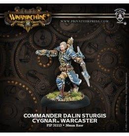 Commander Dalin Sturgis - Cygnar Warcaster
