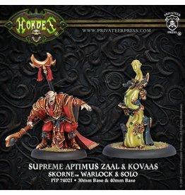 Supreme Aptimus Zaal & Kovaas - Skorne Warlock & Solo