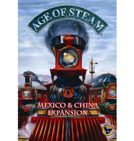 Age of Steam: China and Mexico Expansion