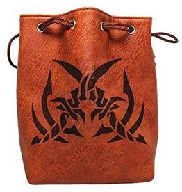 Assassin's Blade Brown Leather Lite Dice Bag