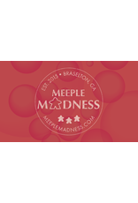 """Meeple Madness 24 x 14"""" Meeple Madness Bubble Mat"""
