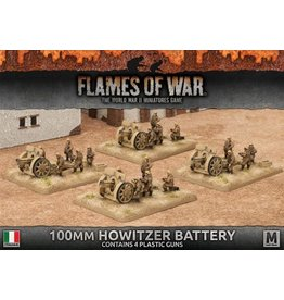 Battlefront Miniatures 100mm Howitzer Battery (Italian)