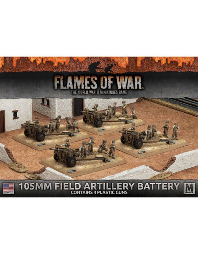Battlefront Miniatures 105mm Field Artillery Battery (Plastic)