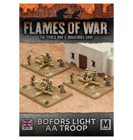 Battlefront Miniatures Bofors Light AA Troop