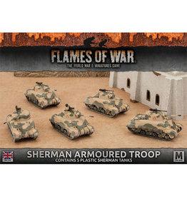 Sherman Armoured Troop (Plastic)