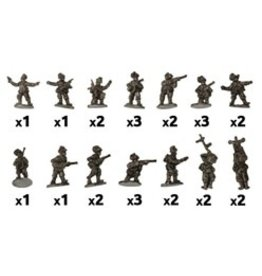 Battlefront Miniatures Assault Engineer Platoon (Italian)