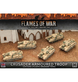Battlefront Miniatures Crusader Armoured Troop