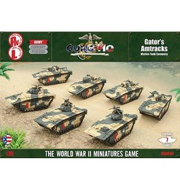 Battlefront Miniatures Gator's Amtracks (USA)