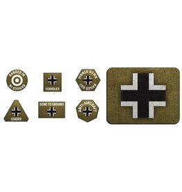 Battlefront Miniatures German Late War Tokens & Objectives