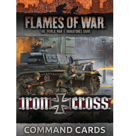 Battlefront Miniatures Iron Cross Command Cards
