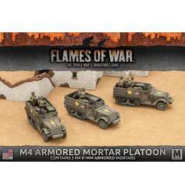 Battlefront Miniatures M4 Armored Mortar Platoon