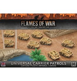 Battlefront Miniatures Universal Carrier Patrols
