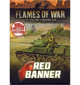 Battlefront Miniatures Red Banner Unit Cards (Soviet)